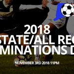 2018 All State/All NE Nominations Due by November 2nd