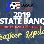 2019 All State Banquet Weather Update